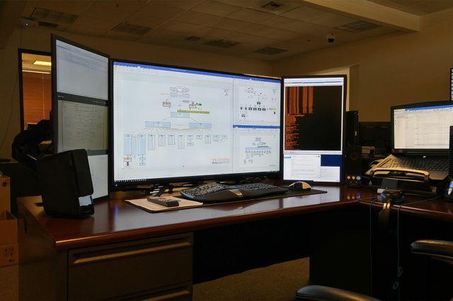 Computer einrichten   Home office setup, Office setup, Home