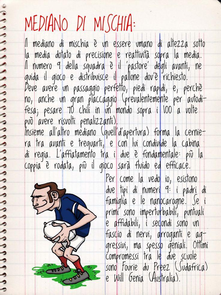 Imparare il Rugby: le regole e i ruoli illustrati da Laura Gugliemo - On Rugby