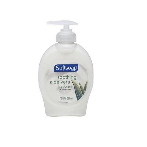 Softsoap 26012 Elements Liquid Hand Soap With Aloe Vera 7 5 Oz
