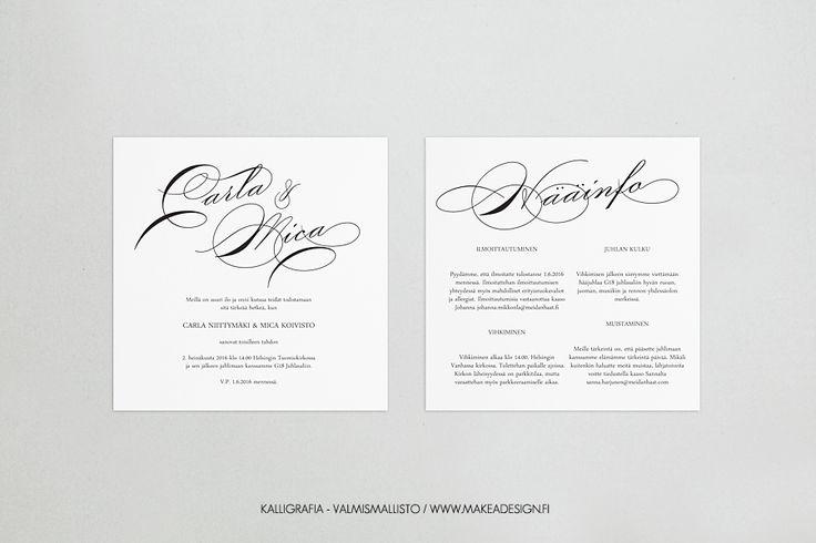 Häiden paperituotteiden valmismallisto 2015 » Makea Design // Valokuvaus / Graafinen suunnittelu