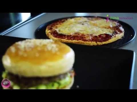 Éhezésmentes karcsúság Szafival - Pizza és hamburger