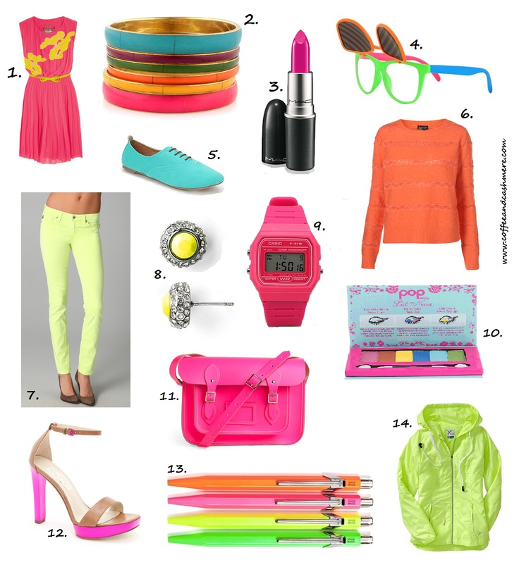 Some days just require Neon clothes