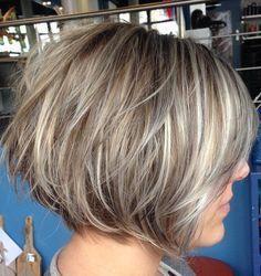 40 Short Bob Hairstyles: Layered, Stacked, Wavy and Angled Bob Cuts
