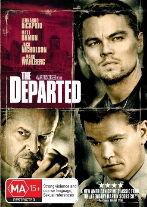 The Departed Gun Poster