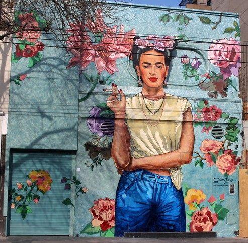 Frida Av. Dorrego y Cabrera, Palermo, Buenos Aires, Argentina Arte: Alfredo Segatori