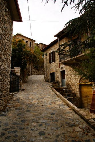 Peloponissos, Stemnitsa, Greece - traditional houses by Christos Theodorou   <3