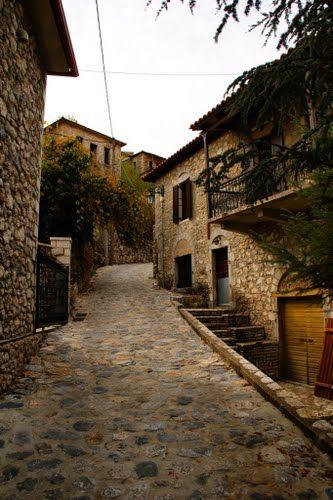 Peloponissos, Stemnitsa, Greece - traditional houses by Christos Theodorou   <3
