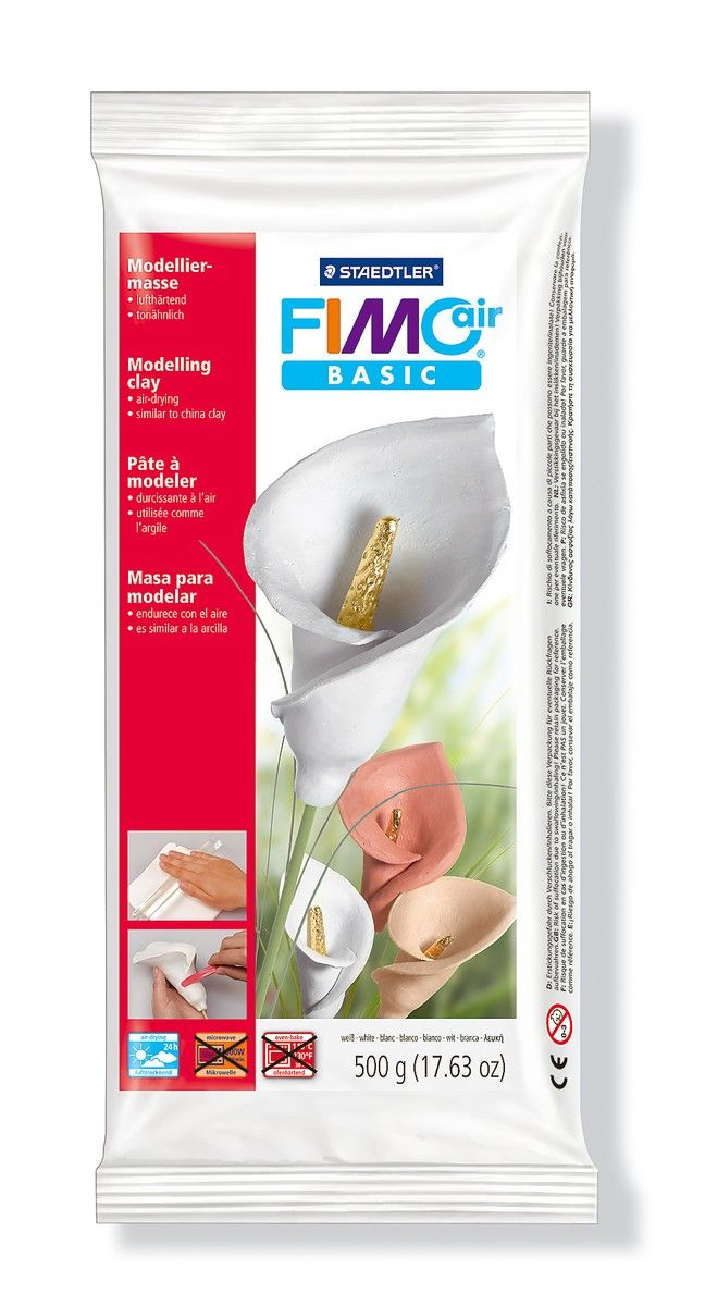 Fimo+Air+luchtdrogende+klei+500+g+wit+-+