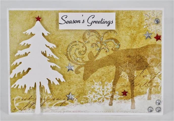 July card kit - by Tina Goodwin www.craftqueen.com.au