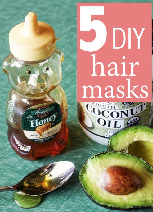 Hydrating, reduce frizz, restorative, promote shine, & oil control masks