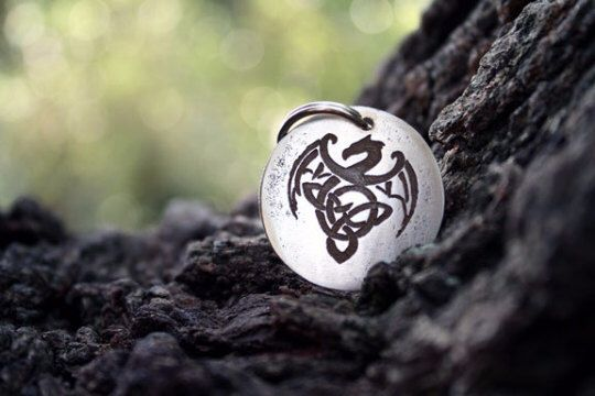 Personalized Dog Tag - Dragon - Bearded Dragon - Pet Tags - Pet ID Tag - Dog Tag - Dog ID Tag - Custom Dog Tag - Cat Tag - Celtic Dragon by TheCopperBone on Etsy https://www.etsy.com/listing/241429576/personalized-dog-tag-dragon-bearded