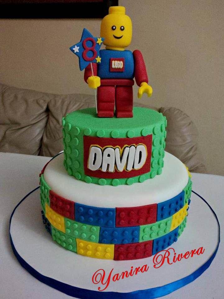 Birthday Cake Ideas Lego : 1000+ images about Lego Birthday Cakes on Pinterest Lego ...