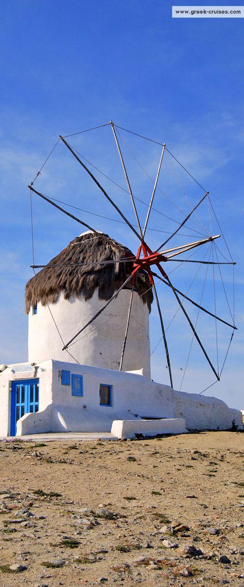 GREECE CHANNEL | Mykonos windmill, #Greece