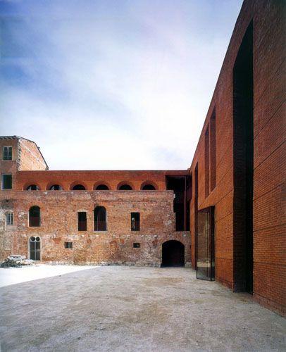 Massimo Carmassi - rehabilitation of san michel di borgo, Pisa