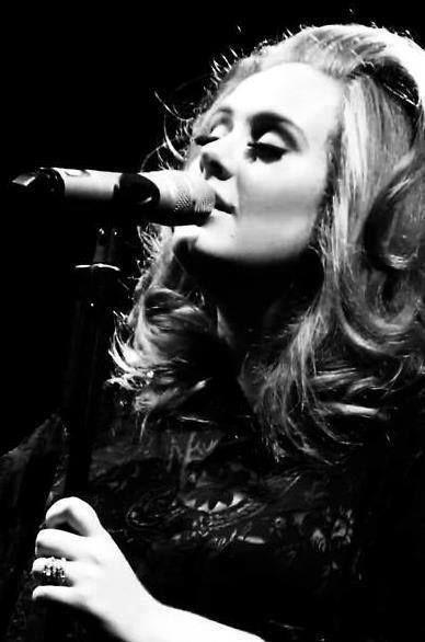 #Adele Portrait by American Photographer Lauren Dukoff http://www.laurendukoff.com #Music #Photography #LaurenDukoff #RoyalAlbertHall @Royal Albert Hall #BlackAndWhite