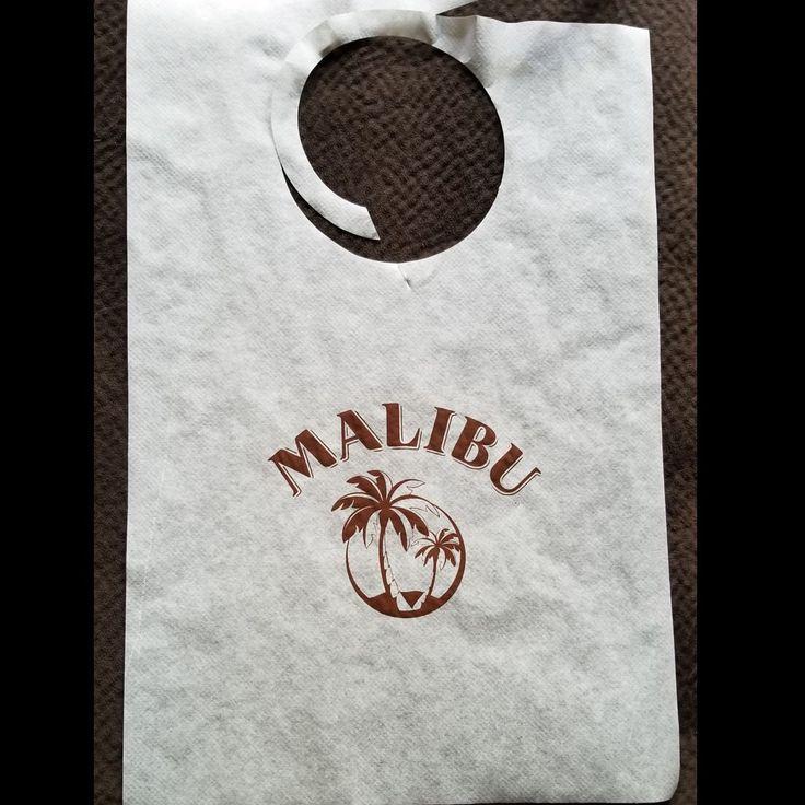 Malibu liquor bibs #adulting #bibs #partybibs #liquor #bibbing #disposable #bibs