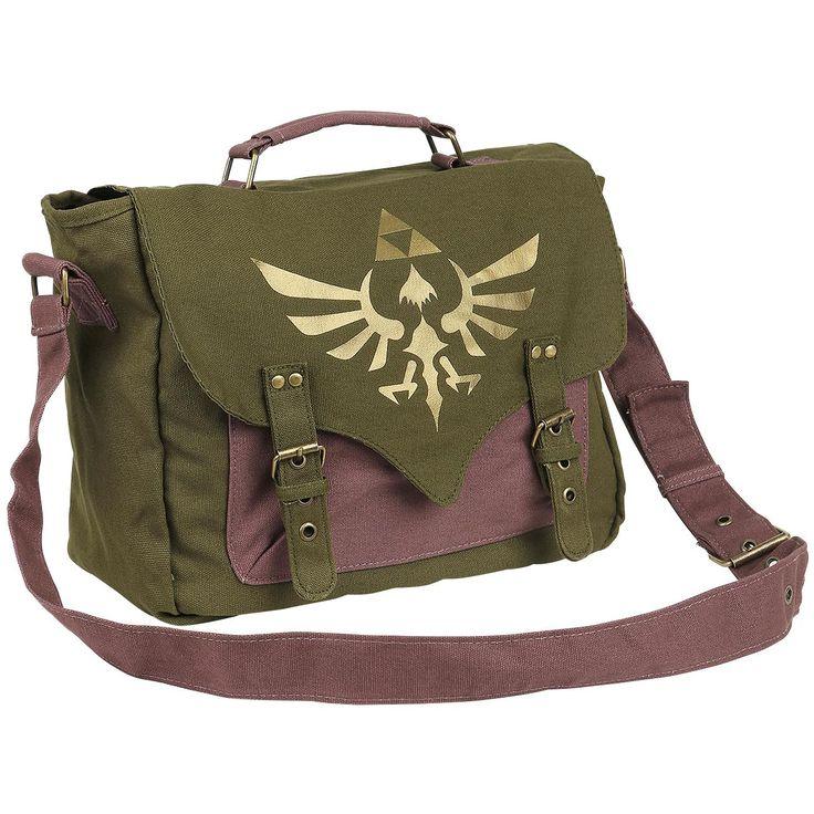 Golden Logo - Umhängetasche von The Legend of Zelda