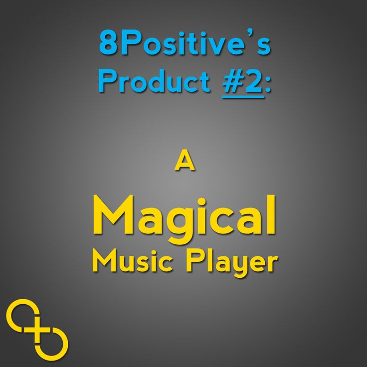 Here we go with our second product!!!! And when we say magical music player we really mean magical!!! You'll see soon. #bepositive #8positive #kickstarter #indiegogo #music #musicplayer #technology #gizmodo #techcrunch #wiredmagazine