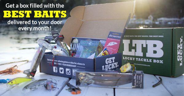 Lucky Tackle Box vs Mystery Tackle Box - Feb. 2015 box | fishhound.com