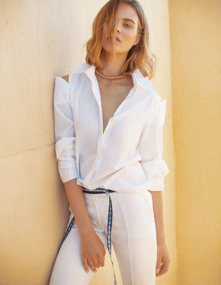 White shirt- spring