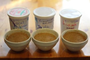 Make your own THM Baking Blend.  Three recipes tried and tested.  Trim Healthy Mama.