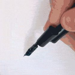 THIS PEN. (gif) I need this badly. It would make my life