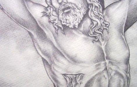 Pencil Drawing Of Jesus On The Cross   My walk...   Pinterest