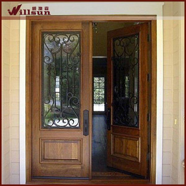 17 meilleures id es propos de portes principales sur for Portes principales bois