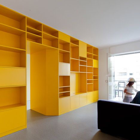 Wall Of Storage Awesome Best 25 Yellow Storage Ideas On Pinterest  Yellow Furniture Inspiration