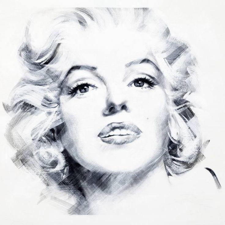 "Saatchi Art Artist Jean Pierre Rousselet; Painting, ""Marilyn Two"" #art"