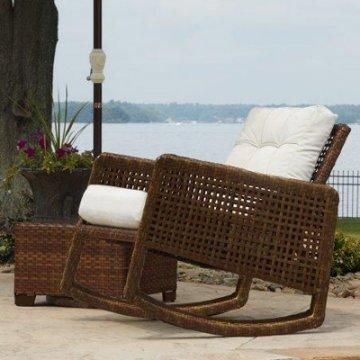 Cozy Outdoor Rocking Chair.