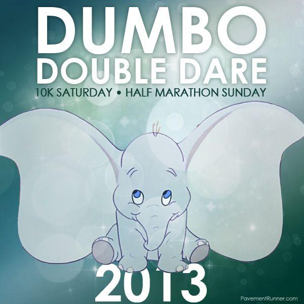Dumbo Double Dare: 10k on Saturday, Half Marathon on Sunday. Crazy!!!!