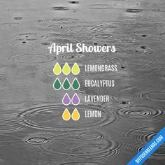 April Showers - Essential Oil Diffuser Blend