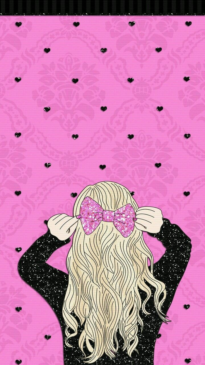 Pin By Elizabeth Reynolds On Iphone Wallpapers Girl Wallpaper Glitter Wallpaper Cute Girl Wallpaper