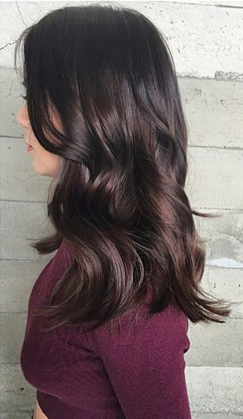 dark brunette hair color shades. et #hairextension from @kinghaircom to add volume and length in minutes! Fresh your daily hair looking at  www.kinghair.com