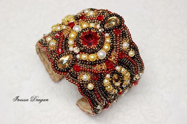 """Браслет """"Индийская невеста""""   biser.info - всё о бисере и бисерном творчестве"""