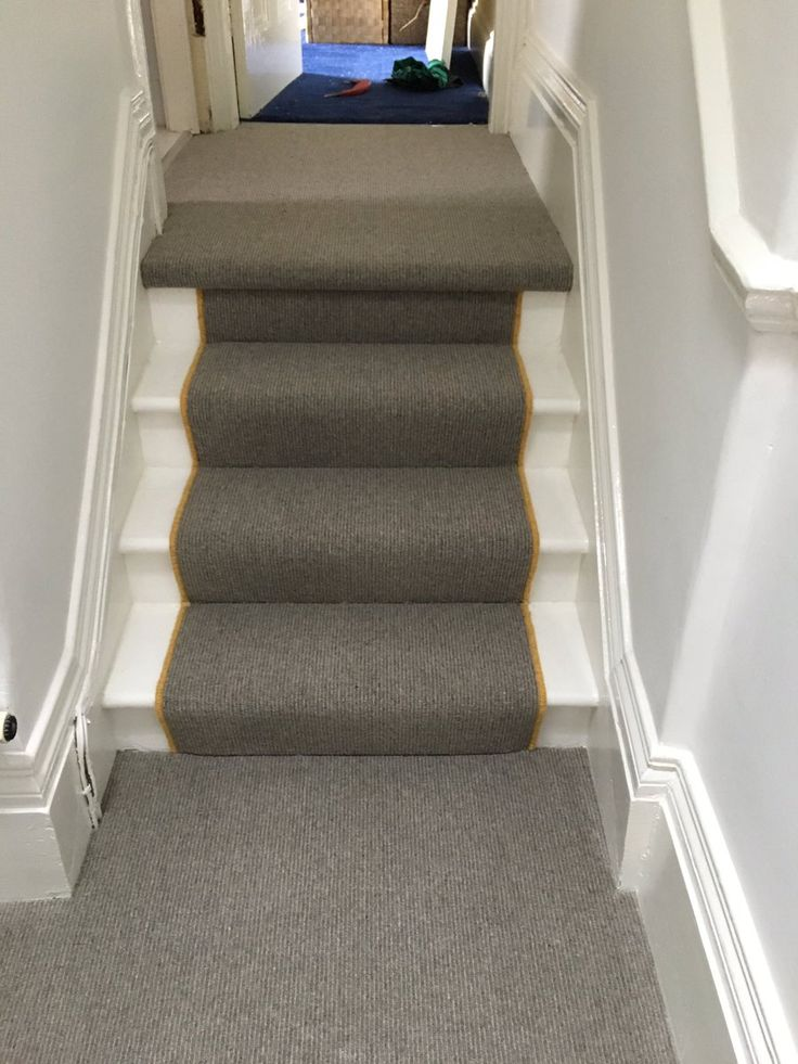 Book Of Stripes carpet by Kingsmead Carpets. Fitted by NICF floor layers.