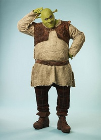 Shrek Costume, Makeup