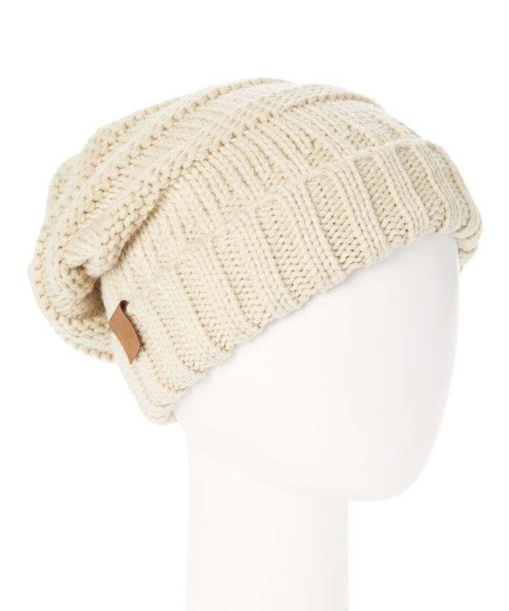 This Something Special Oatmeal Beanie by Something Special is perfect! #zulilyfinds