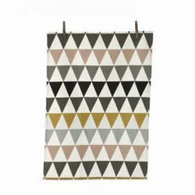 Ferm Living Triangle Tea Towel, Multicoloured from Cloudberry Living