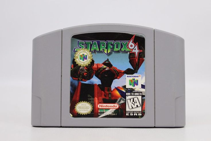 Star Fox 64 - Nintendo 64 Clean and Tested #Nintendo