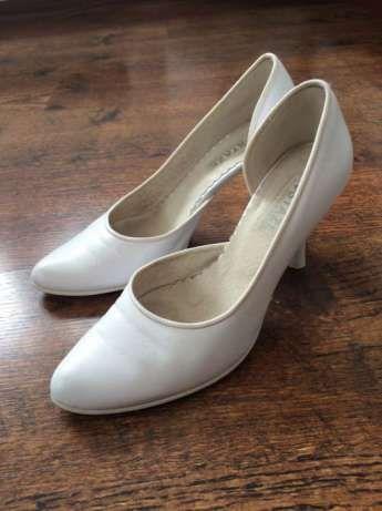 ślubne białe buty, 38 Gdynia - image 1