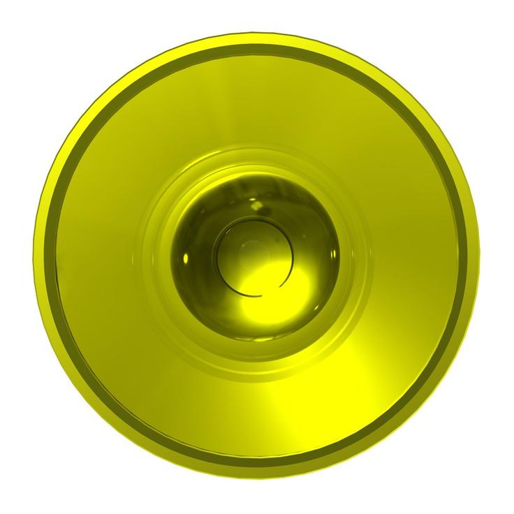C'est ne pas un cercle jaune