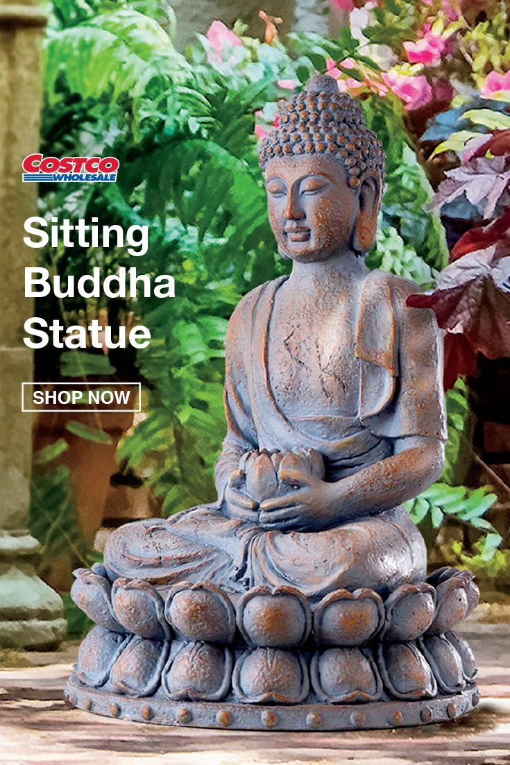 Sitting Buddha Statue In 2020 Sitting Buddha Statue Buddha