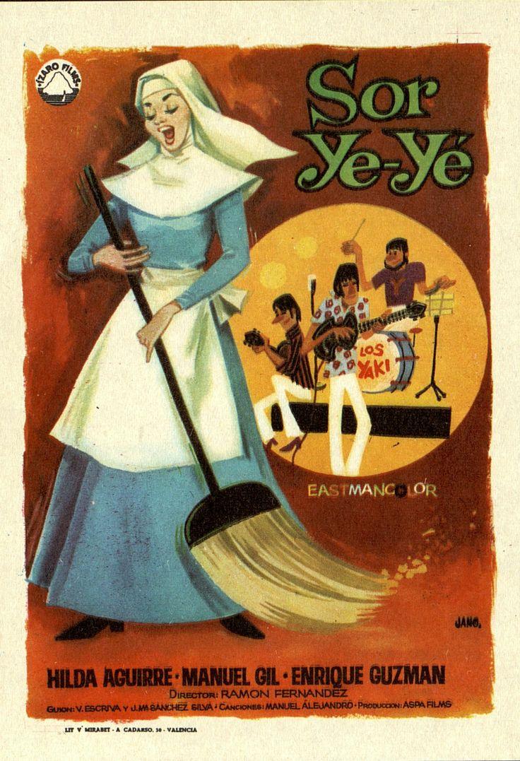 361.     JANO. Sor ye-yé. Dirigida por Ramón Fernández. Valencia: Mirabet, [1968].  #ProgramasdeMano #BbtkULL #CineEspañol #DiadelLibro2014