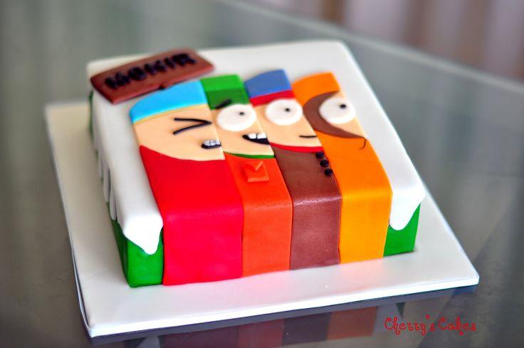 south park cake   South Park