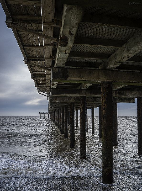 ˚Under Southwold Pier - Suffolk