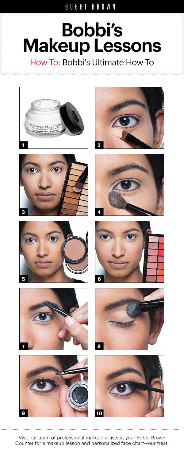 Bobbi Brown Makeup Lessons: The Ultimate How-To