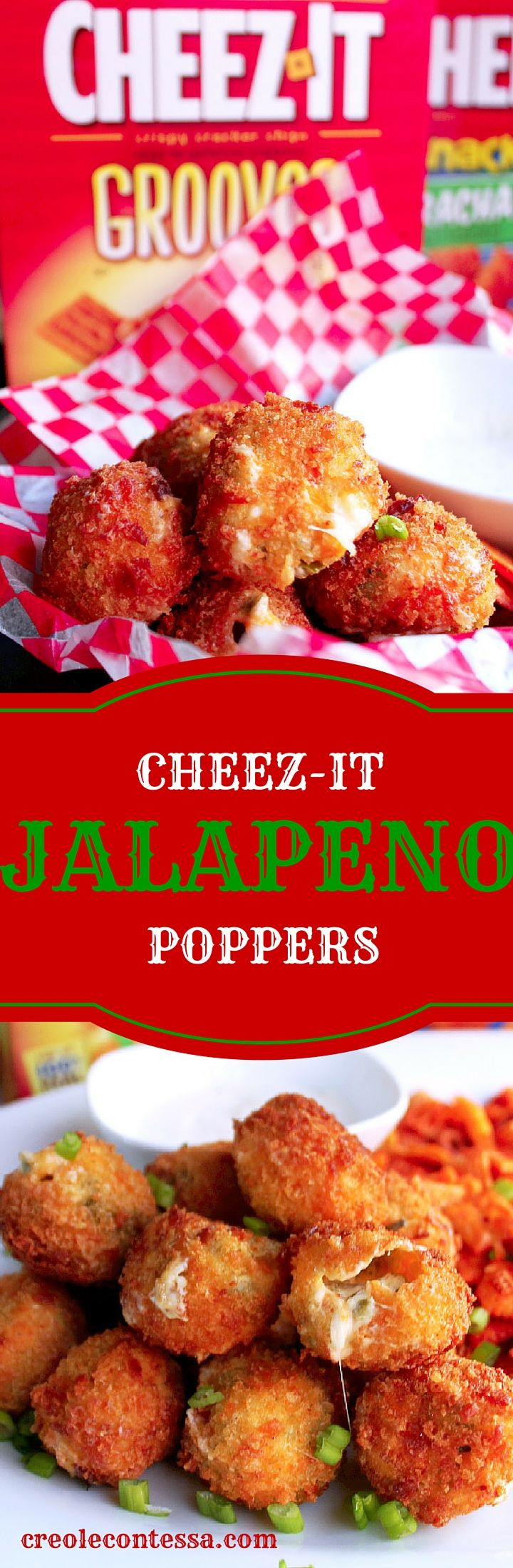 These cracker crusted Jalapeño Poppers will be a crowd hit! If you're planning to watch the basketball games, and have a party, make this recipe for a delicious appetizer.