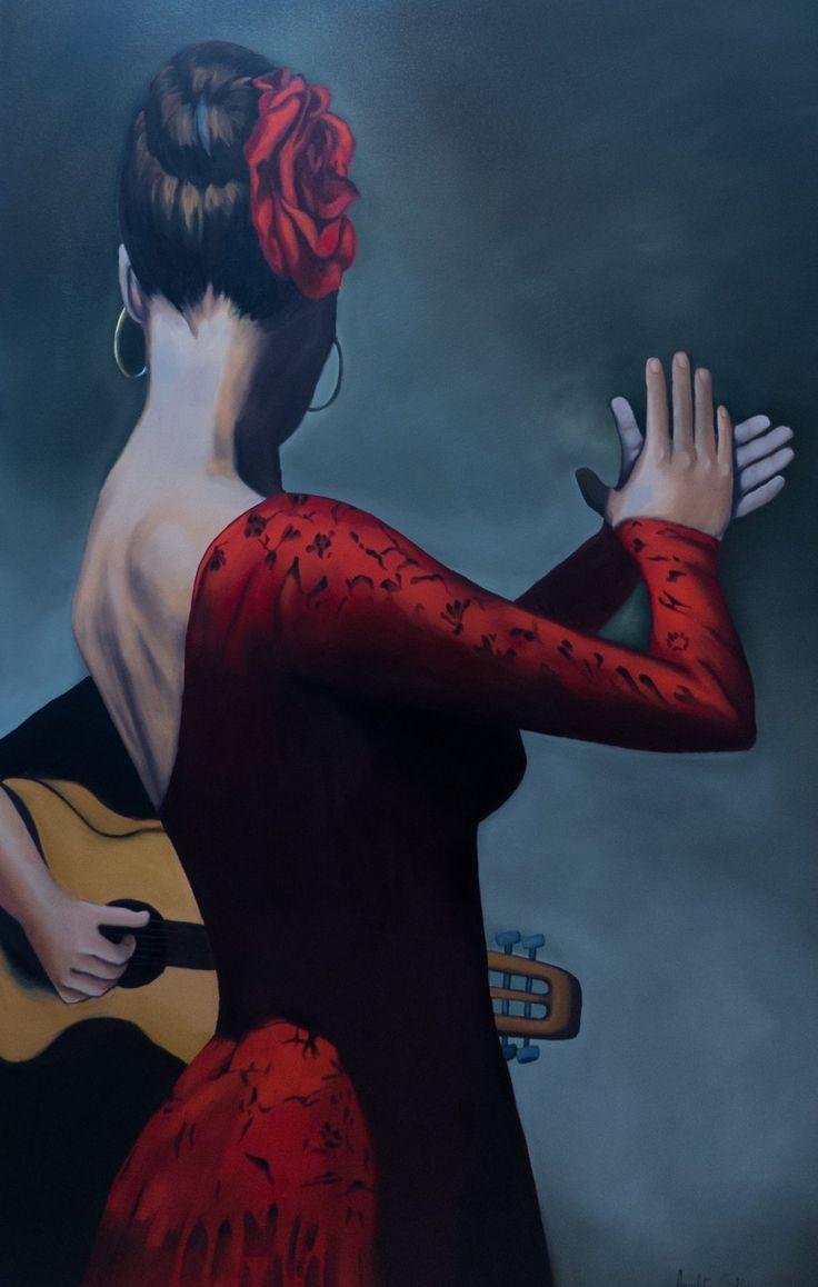 Cigana Espanhola - Pintura Exclusiva